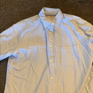 Brooks Brothers Blue and White Stripped Shirt